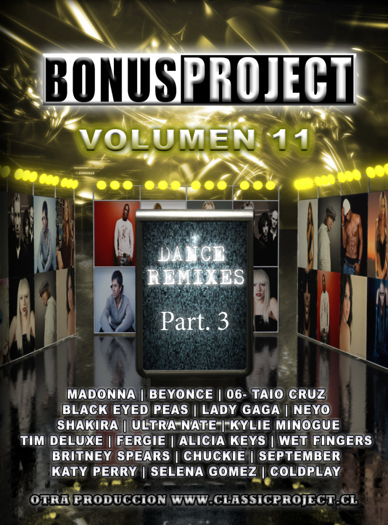 "Bonus Project Vol 11 ""Dance remixes Part.3″"