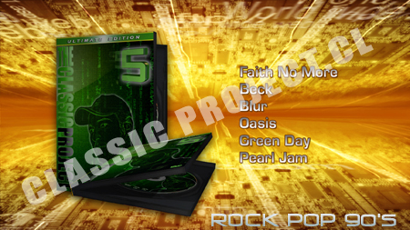 "Classic Project Vol 5 ""rock Pop 90s"""