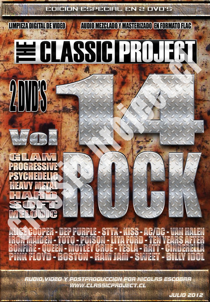 Classic Project Vol 14: Rock (Edicion Doble)