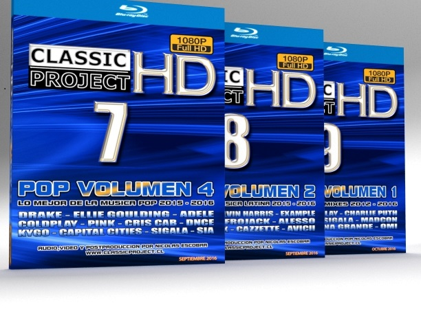Classic Project HD vol. 7, 8  Y 9