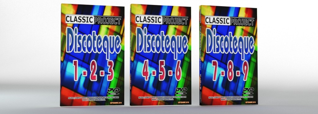 Classic Project Disctoteque Vol. 1 al 9